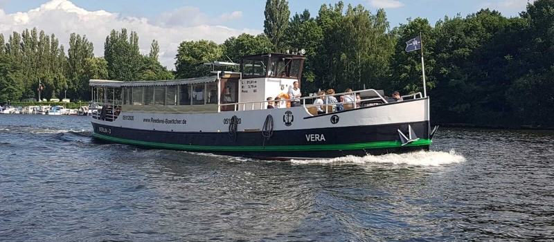 MS Vera Reederei Böttcher Silvana Kiepke Catering